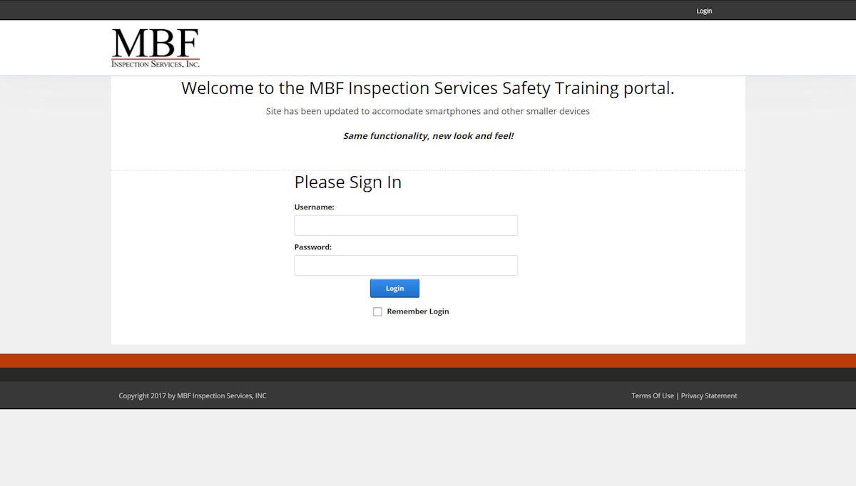 MBFinspection Safety Training